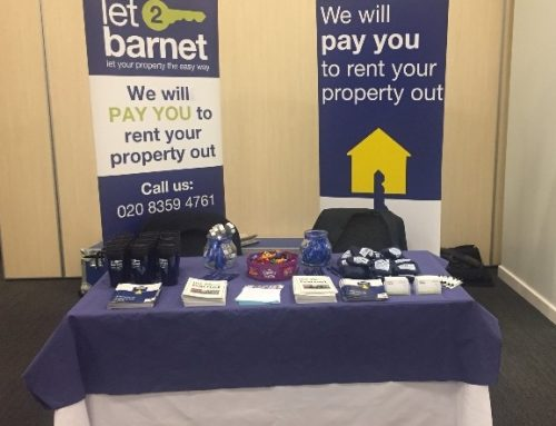 "Let2barnet presenting the ""Council Corner"" in Olympia 2017"