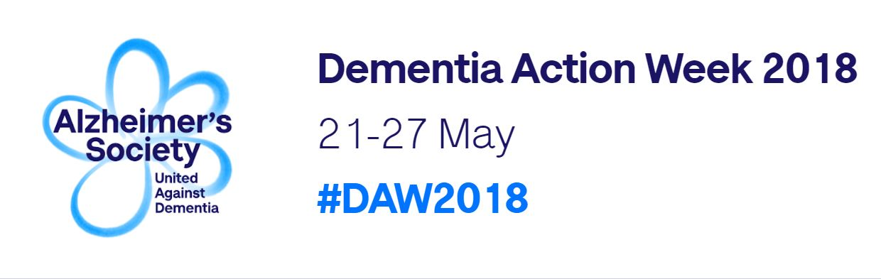 We are Supporting National Dementia Action Week (21 – 27 May
